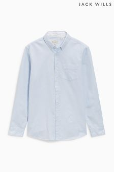 Jack Wills Blue Fine Stripe Shirt