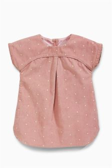 Spot Cord Dress (0mths-2yrs)