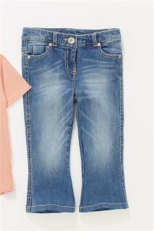 Crop Flare Jeans (3-16yrs)