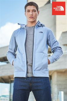 The North Face® Grey Mittellegi Zip Through Hoody