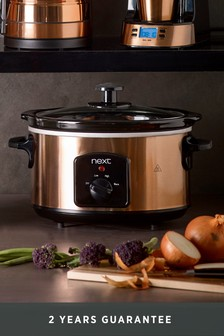 Copper Effect Slow Cooker