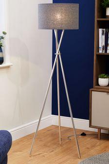 Floor lamps standard lamps modern floor lights next for Heart of house ariano crackle 5 light floor lamp