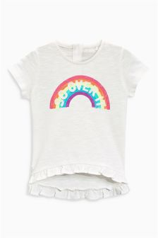 Rainbow Slogan T-Shirt (3mths-6yrs)