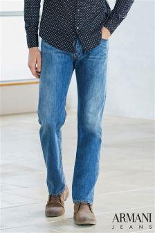 Armani Jeans J21 Straight Fit Jean
