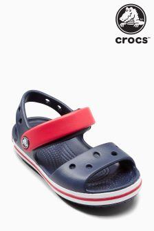 Crocs™ Navy/Red Crocband Sandal