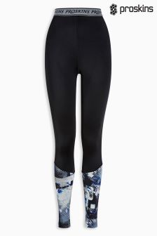 Proskins Black Printed Tight