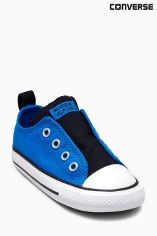 Converse Blue Chuck Taylor All Star Simple Slip-On Ox