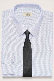 Stripe Regular Fit Shirt And Tie Set