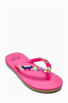 Beaded Flip Flops (Older Girls)