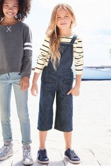 Cropped Dungarees (3-16yrs)