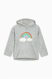 Rainbow Fleece Hoody (3mths-6yrs)