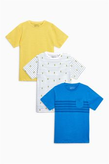 T-Shirts Three Pack (3-16yrs)