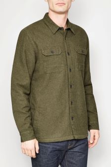 Long Sleeve Lined Shacket