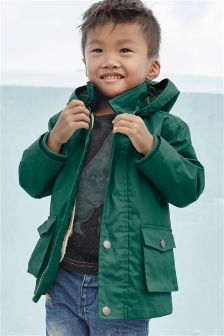 2 In 1 Coated Cotton Jacket (3mths-6yrs)