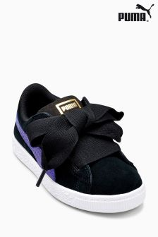 Puma® Black/Blue Suede