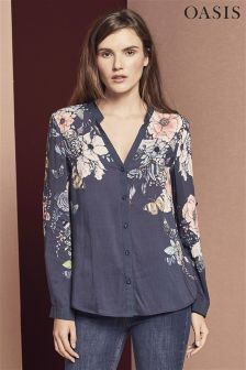 Oasis Grey Enchanted Forest Shirt