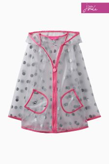 Joules Clear Cloudy Raincoat