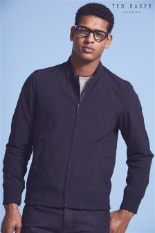 Ted Baker Navy Nufibre Bomber Jacket