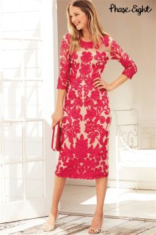 Pink Phase Eight Patsy Tapework Dress