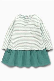 Stripe Cord Dress (0mths-2yrs)