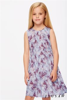 Jigsaw Purple Butterfly Dress