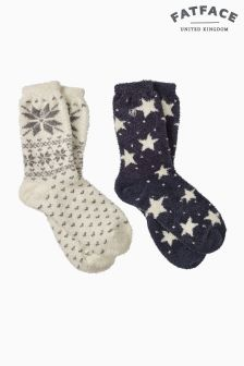 Fat Face Socks Two Pack