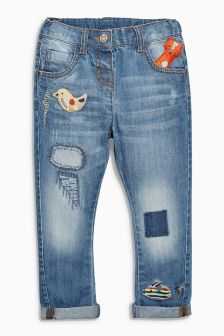 3D Character Jeans (3mths-6yrs)
