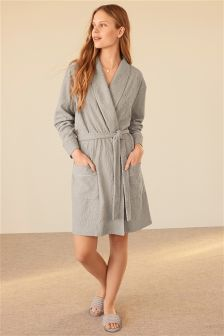 Jacquard Towelling Robe