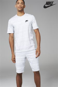 Nike Grey Sportswear Advance 15 Short