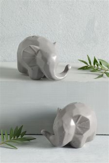 Elephant Salt And Pepper Set