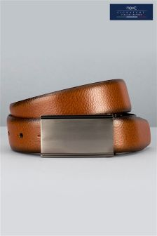 Signature Italian Reversible Leather Belt