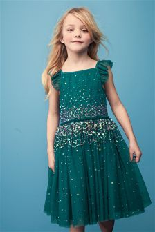 Embellished Dress (3-14yrs)