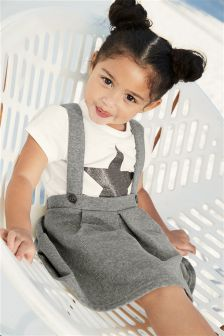Star T-Shirt And Pini Set (3mths-6yrs)