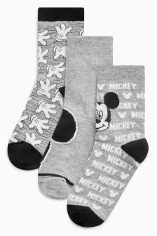 Mickey Mouse™ Socks Three Pack (Younger Boys)