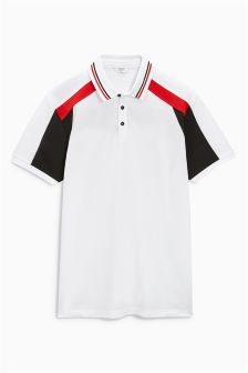 Colourblock Poloshirt
