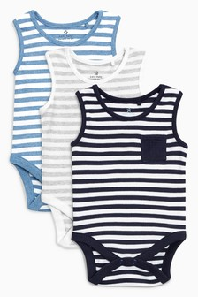Bodysuits Three Pack (0mths-2yrs)