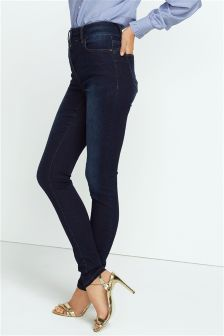 Denim Highwaist Enhancer Skinny Jeans
