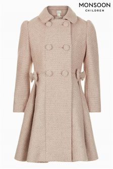 Monsoon Pink Rosabella Coat