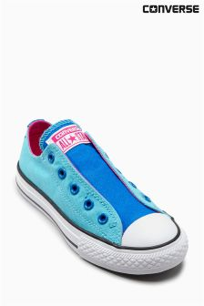 Converse Blue Slip On Chuck Taylor Lo