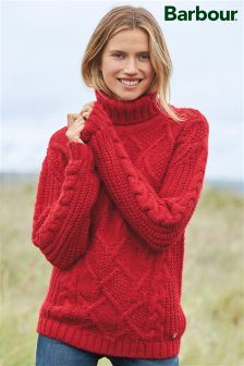 Barbour® Lighthouse Red Moraine Knit