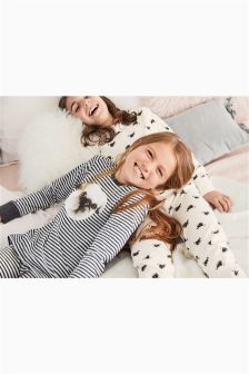 Pug Print Snuggle Pyjamas Two Pack (3-16yrs)