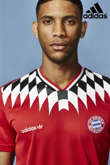 adidas Originals Red Bayern Munich T-Shirt
