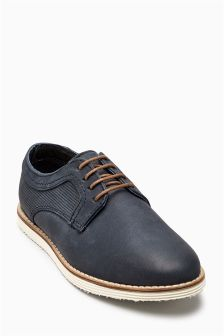 Lace-Up Derby Shoe (Younger Boys)