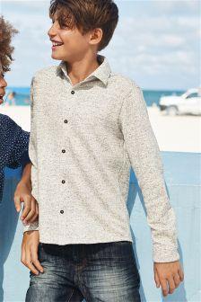 Jacquard Jersey Shirt (3-16yrs)