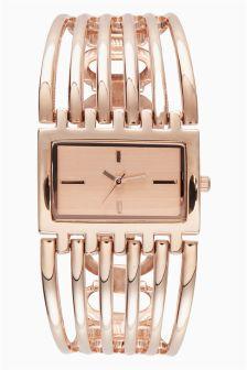 Cage Bracelet Watch