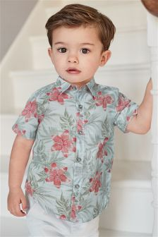 Floral Shirt (3mths-6yrs)