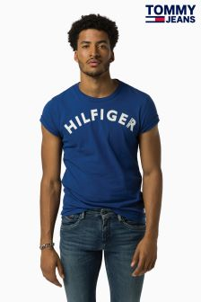 Hilfiger Denim Blue Logo T-Shirt