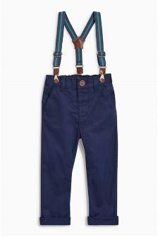 Braced Chino Trousers (3mths-6yrs)