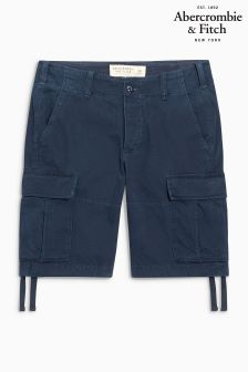 Abercrombie & Fitch Navy Cargo Short