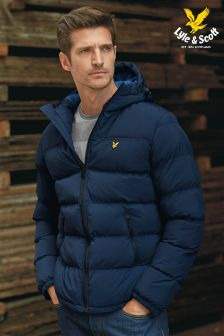 Lyle & Scott Hooded Padded Jacket